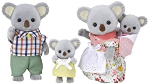 "Epoch Sylvanian Families Sylvanian Family Doll ""Fs-15 Family of Koala"" (japan import)"