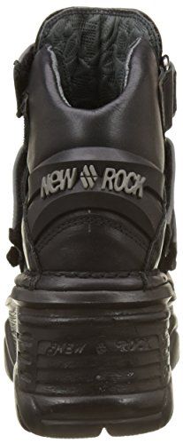 New Rock M-1078-s5, Bottes Rangers Mixte Adulte Noir (Black)