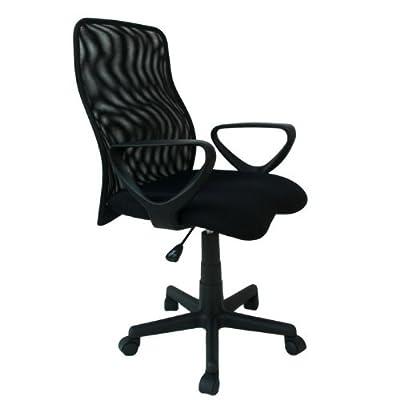 Drehstuhl Bürostuhl Stuhl Sitz Büro Arbeitszimmer Armlehne Carlo schwarz