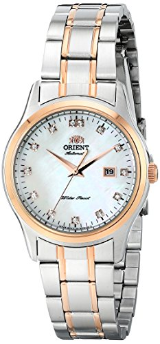 Orient Women's FNR1Q001W0 Charlene Analog Display Japanese Automatic Silver Watch