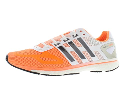 adidas Energy Boost 2, Damen Laufschuhe, Mehrfarbig - orange/weiß - Größe: 41 1/3 EU