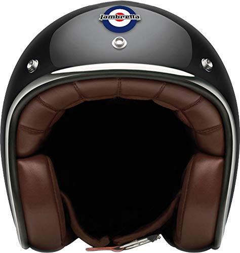 Lambretta casco Carbonio ultraleggero omologazione europea Marca XL nero scintillio