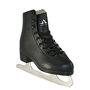 American Athletic Shoe Boy 's Strick Lined steht Skates, black, 9 by American Athletic