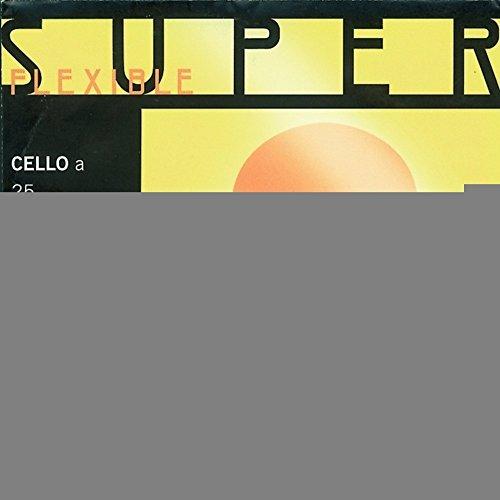 Thomastik-Infeld 25W Super Flexibel Cello einzelne A-Saite, weich, 4/4Größe, Stahl Core chrom Wunde