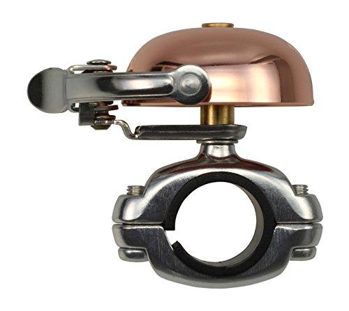 CRANE Bell Co. Fahrradklingel Mini Suzu W Die Cut Mount, Kupfer, CR-MSZDC-CO