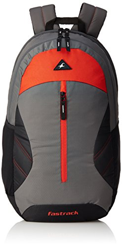 Fastrack 20.55 Ltrs Grey School Backpack (A0692NGY01)