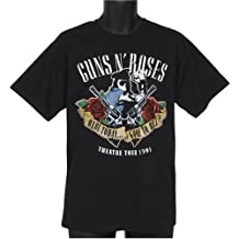 Bravado - Camiseta Guns N' Roses: Here Today, Color Negro, Talla M