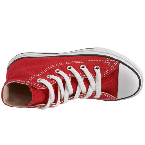 Converse Unisex-Kinder All Star Youth Hohe Sneakers Rot (Red)