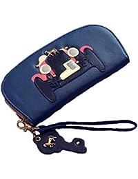 ILoveFashion, Stylish Horse Carriage / Chariot Design,Elegant Long Zipper Wallet,women Wallet,women Wallets.