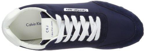 Calvin Klein Jeans Nash, Baskets mode homme Bleu (Nwh)