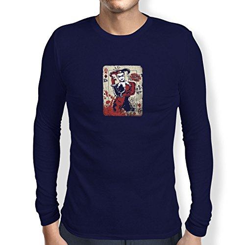 Texlab Harley Queen - Herren Langarm T-Shirt, Größe XL, Navy