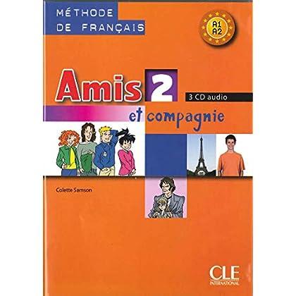 Amis et compagnie - Niveau 2 - CD audio collectif