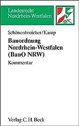 Bauordnung Nordrhein-Westfalen (BauO NRW)