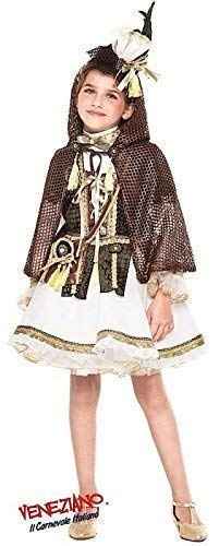 Fancy Me Italienische Herstellung Mädchen Deluxe Mittelalterlich Robin Hood Film Büchertag Woche Kleid Kostüm Schuhe 3-10 Jahre - Weiß, 3 - Deluxe Robin Hood Kind Kostüm