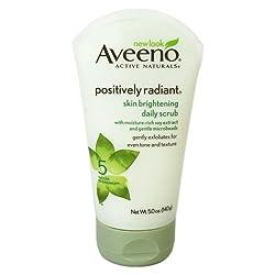 Aveeno, Daily Scrub, Skin Brightening