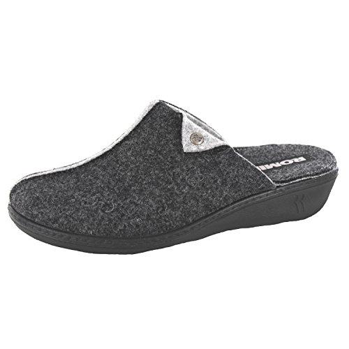 ROMIKA Romilastic 384, Chaussons Mules femme Gris (Anthrazit)