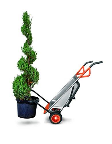 WORX WG050 Aerocart Multifunktions-Schubkarre – 8-in-1 Funktion: Sackkarre mit Vollgummireifen, Gartenkarre, Tragehilfe, Müllbeutelhalter uvm. - 5