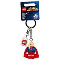 LEGO DC Comics Super Heroes Supergirl Keychain - Case