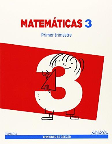 Matemáticas 3. (Aprender es crecer) - 9788467847741 por Luis Ferrero de Pablo
