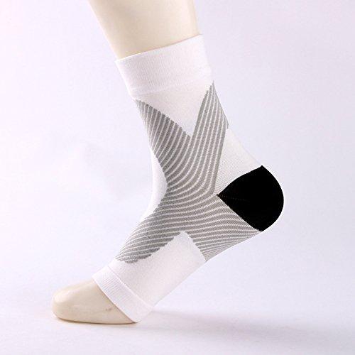 lymty Premium-Knöchelbandage zur Unterstützung der Kompression - für Plantarfasziitis, Wiederherstellung von Verletzungen bei Gelenkschmerzen, geschwollene Fußsocken -