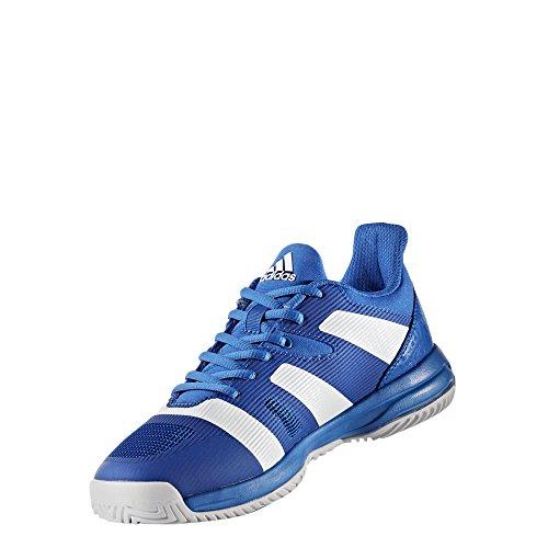 adidas Unisex-Kinder Stabil X Jr Handballschuhe Blau (blau/Ftwbla/blau)