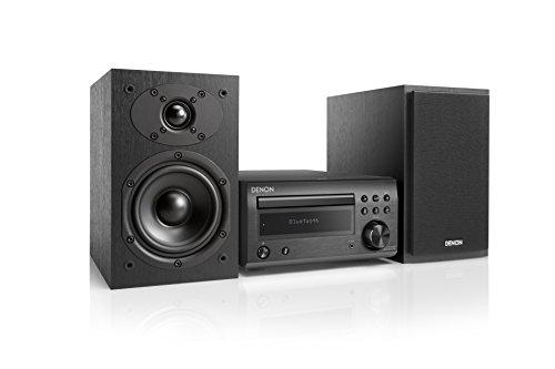 Denon D-M 41 DAB Sistema Hi-Fi compatto con CD, Bluetooth e FM/DAB/DAB+ Tuner, Nero