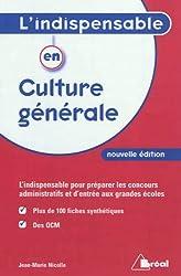 L'Indispensable en Culture Generale