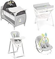 Cam Daily Plus Baby Bundle - Grey Rabbit, Pack of 1