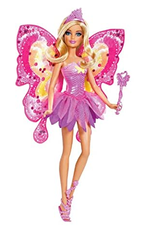 Mattel W2966 - Schmetterlingsfee Barbie, Puppe