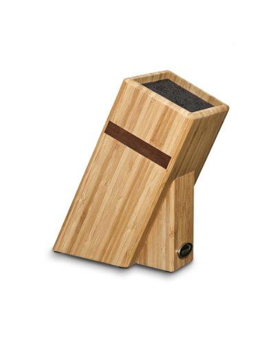 Deglon Bambus Leer Universal Messerhalter Block Mit Stangen Beige