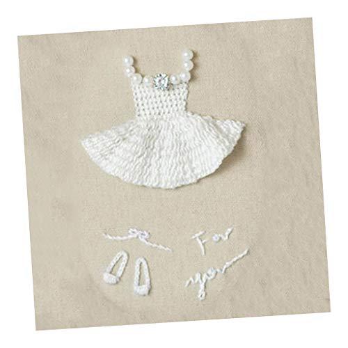 chiwanji Ballett Muster DIY Handgemachte Stickerei Sampler Kit Für Kinder Anfänger Handwerk -