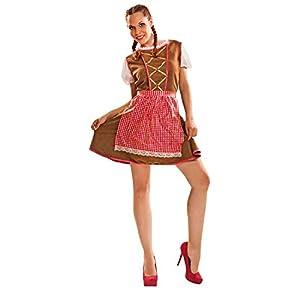 My Other Me Me-201108 Tirol Disfraz de tirolesa para mujer, S (Viving Costumes 201108)