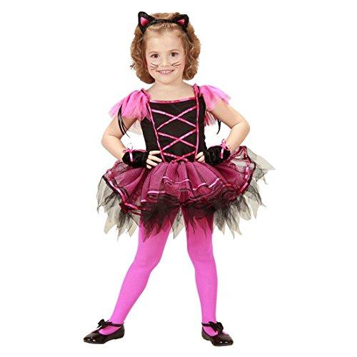 NET TOYS Kinder Katzen Kostüm Ballerina Katzenkostüm 110 cm Tütü Kätzchen Kinderkostüm Tüll Mädchenkostüm Cat Kostümset Tutu Tierkostüm Set Mädchen