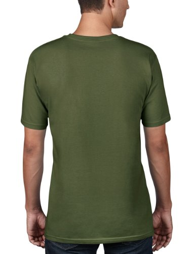 anvil Herren Organic Cotton T-Shirt / 420 Grün (CGR-City Green)