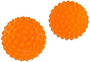 Select Massageball Ball Punktur 2 Stück, Orange, 2453700666