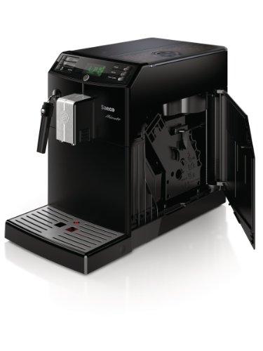Saeco HD8761/01 Minuto Kaffeevollautomat, klassischer Milchaufschäumer, schwarz - 8