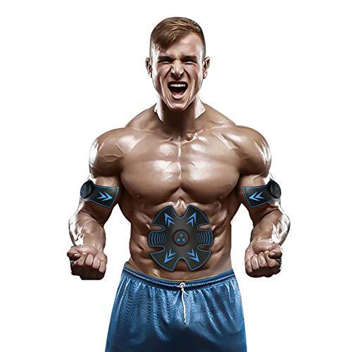 TFGY Bauchmuskeltrainer, EMS Bauchmuskeltrainer Ab Gürtel, Fitness-Instructor-Familie Fitnessgeräte - USB-Aufladung
