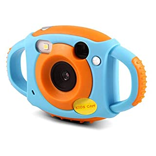 ABEDOE Waterproof Kids Camera, Rechargeable Digital Camera Camcorder with Memory Card Toy