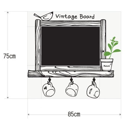 sodialr-pegatina-etiqueta-adhesivo-amovible-pvc-decor-decorativo-marco-pizarra-negra