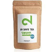 DUAL Detox Tea | Té desintoxicante para bajar de peso en 28 días | Té adelgazante y quemador de grasa | Té de dieta| Té limpiador | Té de hoja suelta | Hecho en Alemania