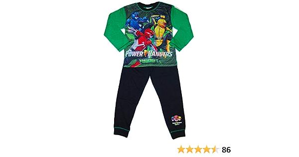 Pyjama long Power Rangers pour gar/çon de 3 /à 10 ans w18
