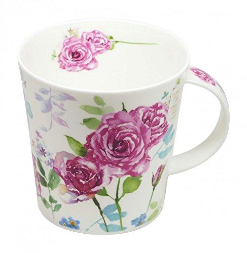 Dunoon Tasse Cairngorm Country Garden Rose 480ml Rose Garden Bone China