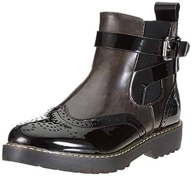 Rieker Damen 98081 Chelsea Boots, (Schwarz/Asphalt 00), 36 EU