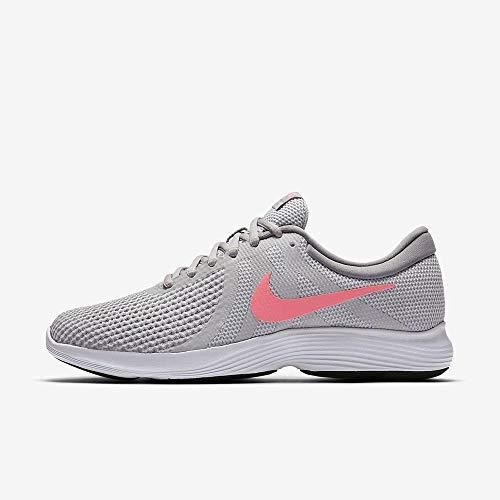 Nike Damen Wmns Revolution 4 Eu Laufschuhe, Grau (Pure Platinum/sunset Pulse/wolf Grey/black), 39 EU