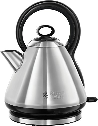 Russell Hobbs 21887 Legacy Quiet Boil Electric Kettle, 3000 W, 1.7 Litre, Stainless Steel