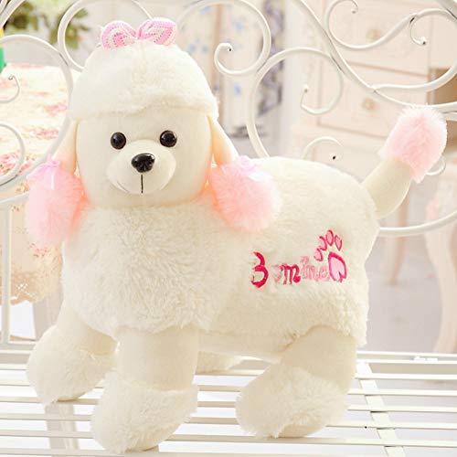 LAIBAERDAN Plüschtier Hund Welpen Hund Puppe VIP Hund Puppe Niedlich Dekoration Mädchen Kind Geburtstagsgeschenk (Valentines Hund Stofftier)