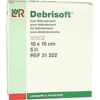 DEBRISOFT Kompressen 10x10cm 5St. preisvergleich bei billige-tabletten.eu