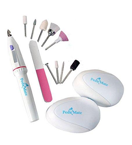 Shopo's 18pcs/set Handheld Pedi Mate Manicure Pedicure Foot Care Tool