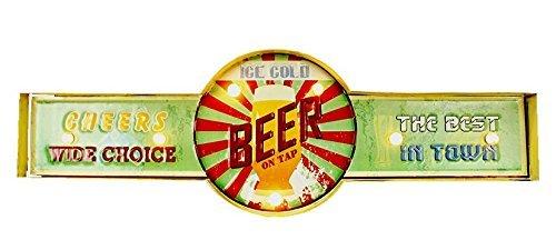 """Letrero luminoso de colección, modelo """"Beer"""", ideal para bares, tamaño 65x 22 cm"""
