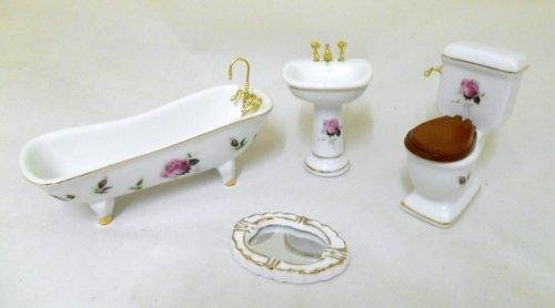 puppenhaus-miniatur-mobel-set-rosa-rose-gold-porzellan-badezimmer-suite-362